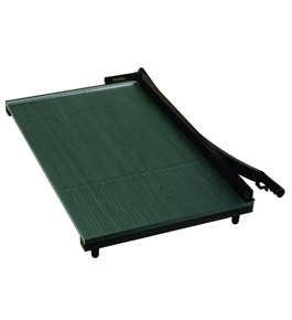Premier Heavy-Duty Green Board Wood Trimmer, Cut Up to 20 Sheets at One Time, Steel Blades, 36 Inches, Green - PREWC36