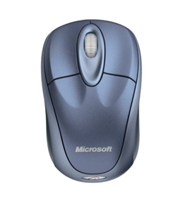 Microsoft Wireless Notebook Optical Mouse 3000 - Winter Blue