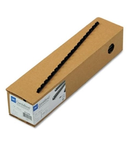 GBC CombBind Binding Spines, 0.25-Inch, 25-Sheet Capacity, Navy Blue, 100 per Box (4010485)