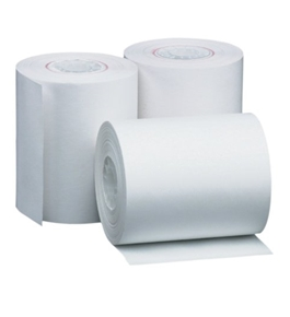 PM Company Perfection One Ply Thermal Rolls, 2.25 X 85 Feet, White, 50 Rolls Per Carton - 07903