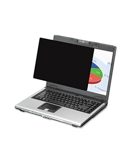 "Fellowes Black-Out Privacy Frameless Filter for 12.1"" LCD/Notebook, Antiglare"
