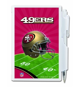 San Francisco 49ers Pocket Notes, Team Colors 12020-QUY