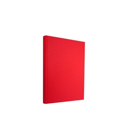 Semikolon A6 Classic Linen Writing Book, Red - 0220004