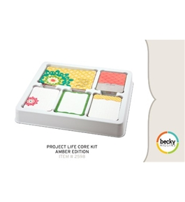 Project Life by Becky Higgins Core Kit - Amber Edition