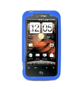 Eagle Cell SCHTC6350S02 Barely There Slim and Soft Skin Case for HTC Droid Incredible 2 - Blue