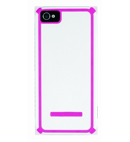 Body Glove 9290803 Tactic Cell Phone Case for Apple iPhone 5 - 1 Pack - White/Pink