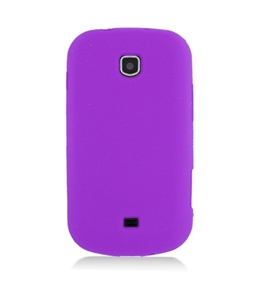 Eagle Cell SCSAMI200S05 Barely There Slim and Soft Skin Case for Samsung Galaxy Stellar i200 - Purple