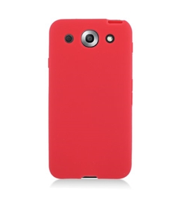 Eagle Cell SCLGE940S03 Barely There Slim and Soft Skin Case for LG Optimus G E940 - Red