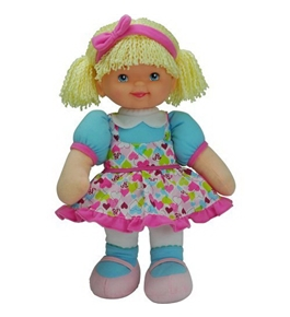 Baby's First Molly Manners Doll - Brunette