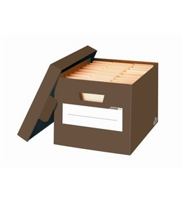 Bankers Box Mocha Brown Letter/Legal Box, 3 Pack (6130401)