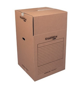 Bankers Box SmoothMove Wardrobe Box, 24 x 24 x 40 Inches, 3 Pack (7711001)
