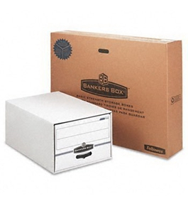 Bankers Box STOR/DRAWER Storage Drawers FILE, STOR, DRWER, LGL, CTN6 (Pack of2)