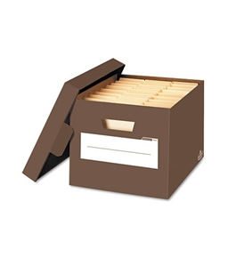 Bankers Box Stor/File Decorative Storage Boxes  Letter/Legal
