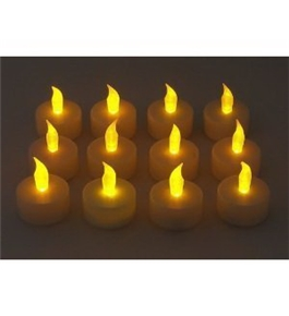 Battery operated Tealight Candles Flameless Set of 12pcs