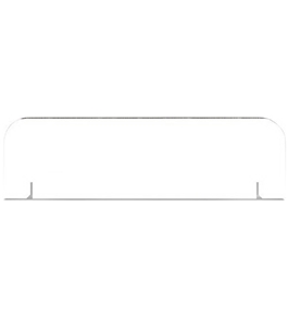 Bb Presentation Board Headers White - 24 Per Carton