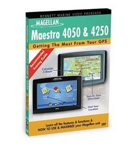 Bennett Marine Video Training Dvd Magellan Maestro 4050 And 4250