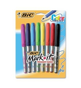 BIC Mark-it Gripster Permanent Markers [Toy]