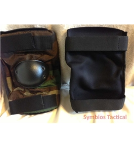 Bijan Style Traditional Woodland Camo - Tactical Elbow Pads NEW