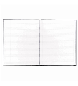 Blueline Executive Journal, Black, 11 x 8.5 Inches, 150 Pages (A10.81)