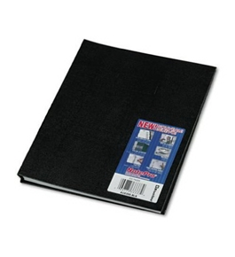 Blueline NotePro Notebook, Black, 11 x 8.5 Inches, 200 Pages (A10200.BLK)