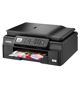 Brother Wireless Inkjet All-in-One w Auto Document Feeder - MFCJ470DW