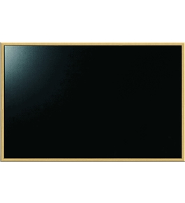 "Board Dudes 23"" x 35"" Chalk Board with Oak Style Frame (9184BDUA-6)"