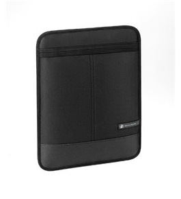 Body Glove Premier Vertical Sleeve for Apple iPad, 9 x 11.25 Inches, Black (9205501)