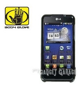 Body Glove Snap On Case for T-Mobile LG G2x, Optimus 2x -Black