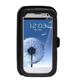 Body Glove ToughSuit Case w/ Holster Belt Clip for Samsung Galaxy S III (Black)