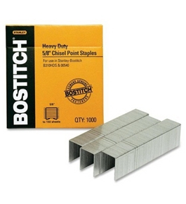 Bostitch SB35581M 5/8-in Heavy Duty Staples (1, 000 pk)