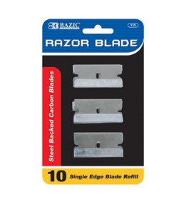 BAZIC Razor Replacement Blade (10/Pack)
