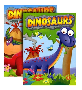 DINOSAURS Coloring & Activity Book