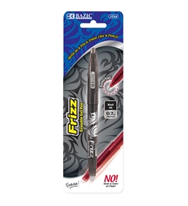 BAZIC Frizz Black Erasable Gel Pen
