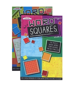 KAPPA Word Squares Word Finds Puzzle Book - Digest Size