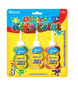 BAZIC 40ml Glitter Paint (3/Pack)