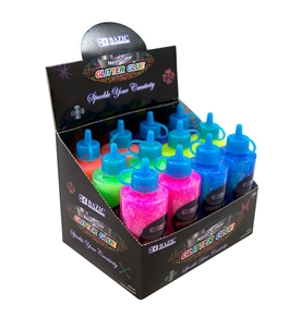 BAZIC 120 mL Neon Color Glitter Glue