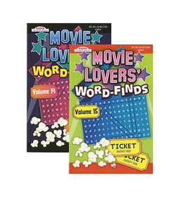 KAPPA Movie Lovers Word Finds Puzzle Book - Digest Size