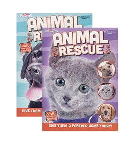 KAPPA Animal Rescue Coloring & Activity Book