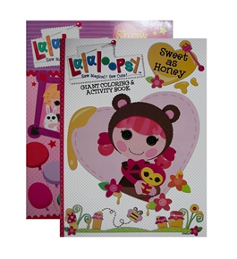 LALALOOPSY Giant Coloring & Activity Book