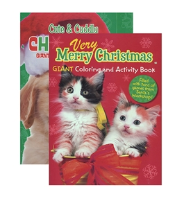 KAPPA Puppies & Kittens Christmas Coloring & Activity Book