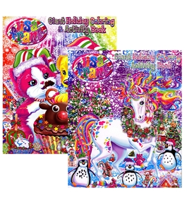 LISA FRANK HOLIDAY Giant Coloring & Activity Book