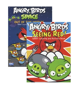 ANGRY BIRDS Coloring & Activity Book