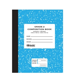 BAZIC 50 ct Grade 2 Primary Composition Book
