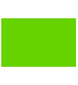 BAZIC 20 X 30 Fluorescent Green Foam Board