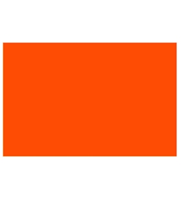 BAZIC 20 X 30 Fluorescent Orange Foam Board