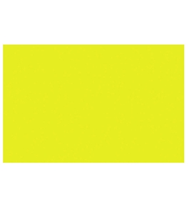 BAZIC 20 X 30 Fluorescent Yellow Foam Board