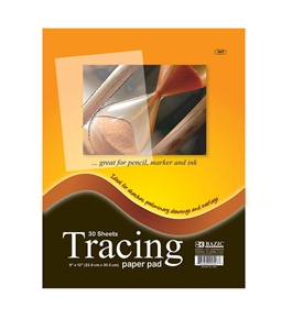 BAZIC 30 Ct. 9 X 12 Tracing Paper Pad