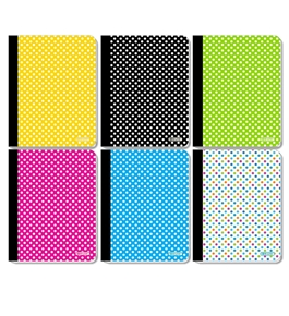 BAZIC C/R 100 Ct. Polka Dot Composition Book