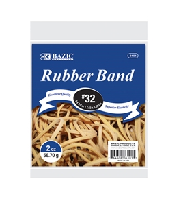 BAZIC 2 Oz./ 56.70 g #32 Rubber Bands