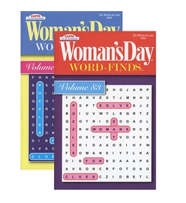 KAPPA Womans Day Word Finds Puzzle Book-Digest Size